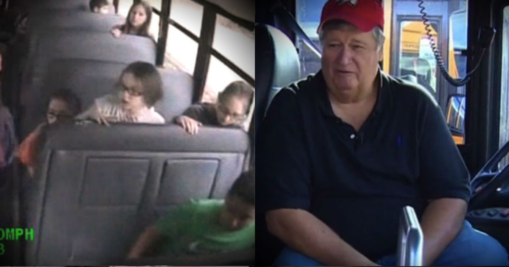 When His Students Were Threatened, This School Bus Driver Came To The Rescue!