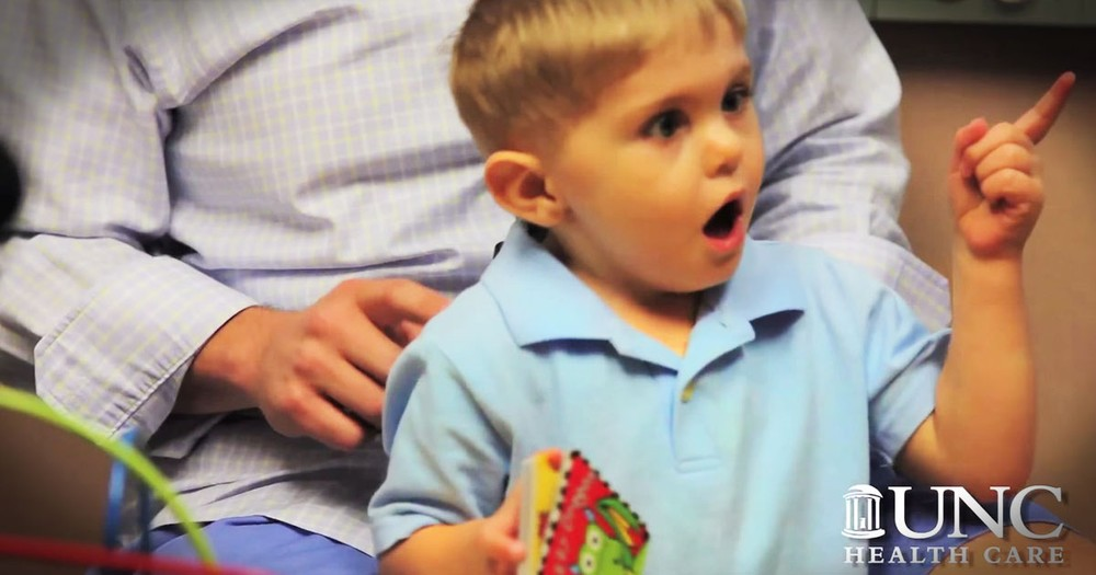 Deaf Child Hears His Dad for the First Time and Has Heartwarming Reaction