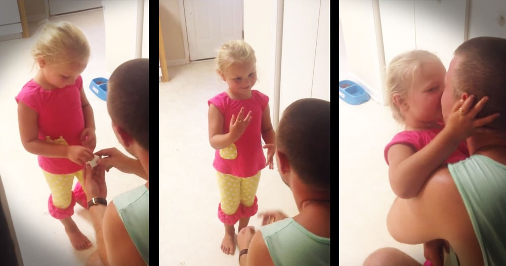 He Asked If He Could Be Her Dad, And I Swooned!