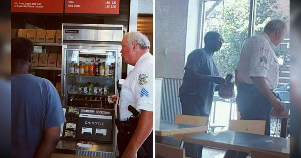 A Cop's Act Of Kindness Was Called Fake. But Then One Man Said THIS!