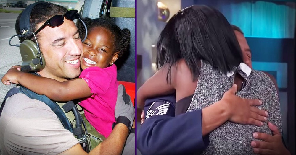 He Saved Her Life 10 Years Ago. And Now They're Together Again...TEARS!