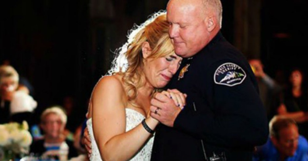 Her Dad Was Shot And Killed. How This Bride Honors Him On Her Big Day - TEARS!