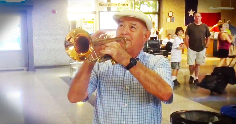 He Surprised His Wife At The Airport, And It's WONDERFUL