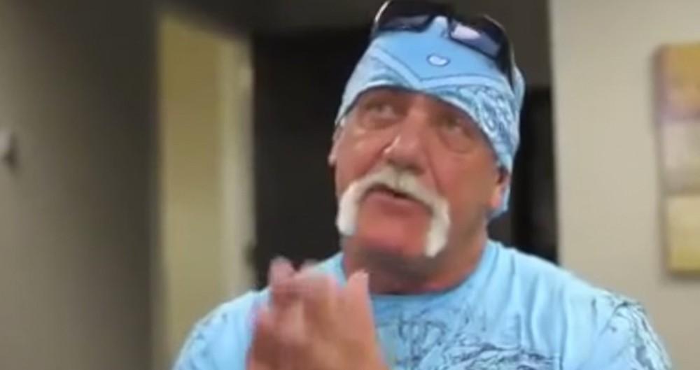 Hulk Hogan Is Putting His Trust In GOD!
