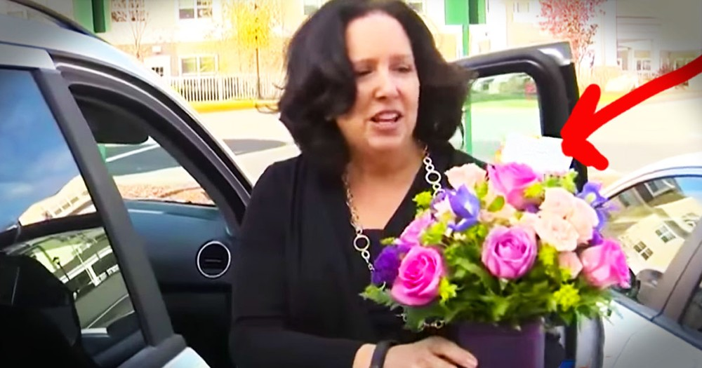 She Got Flowers Instead Of A Speeding Ticket And The Reason WHY Is Touching!