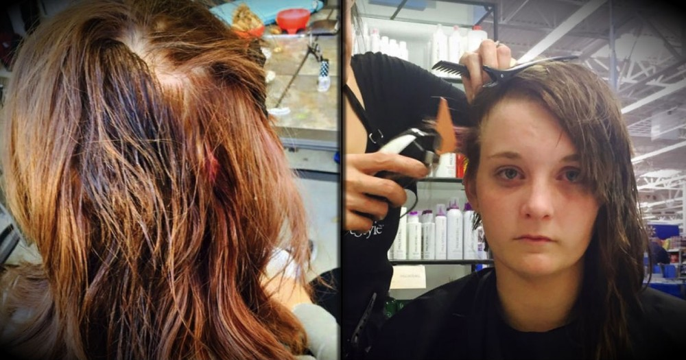 A Bully Poured Superglue In Her Hair. But This Teen Knew Just How To React!