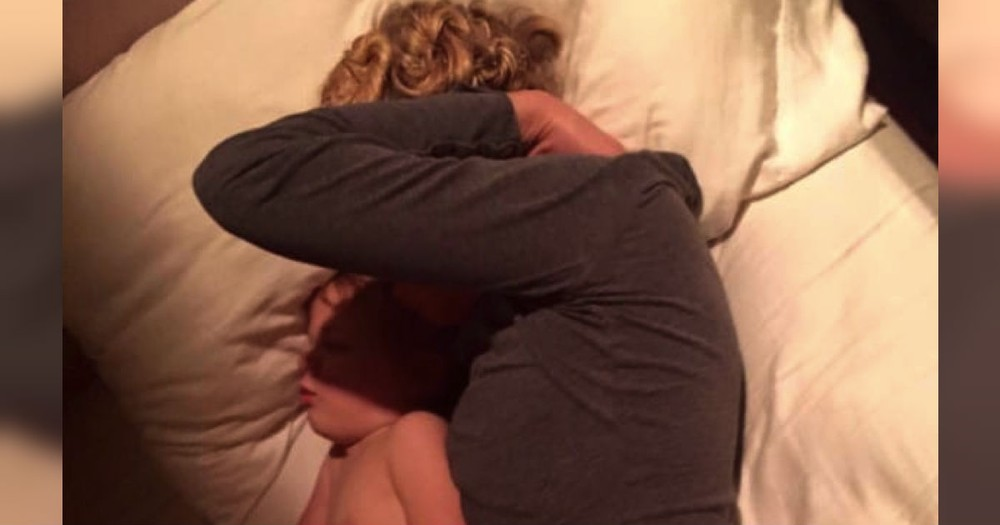He Posted A Photo Of His Napping Wife. And The Internet Instantly Fell In Love!