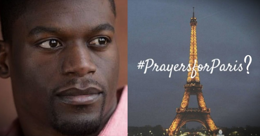 NFL Player: It's OK to Pray for Paris But We Suspend a Football Coach for Praying After a Game?