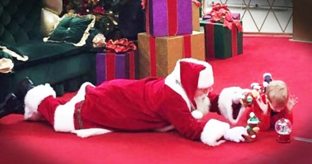What Santa Did For A Boy With Autism Is Truly Beautiful