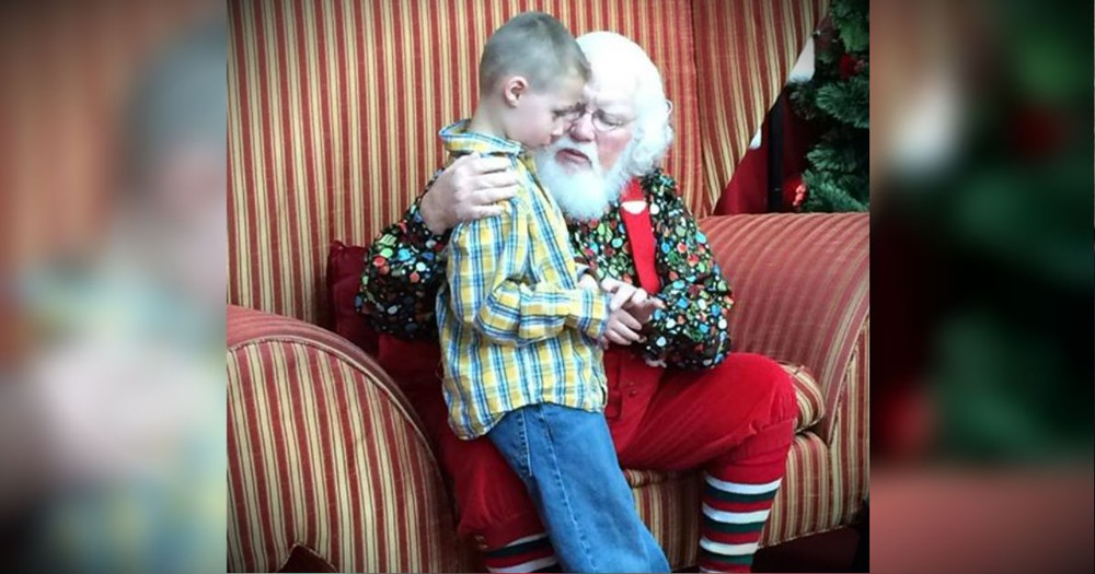 This Santa Had A POWERFUL Message For A Boy With Autism!
