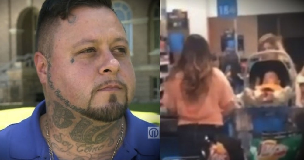 A 'Tough Guy' Just Did THIS For A Struggling Mom At Walmart!