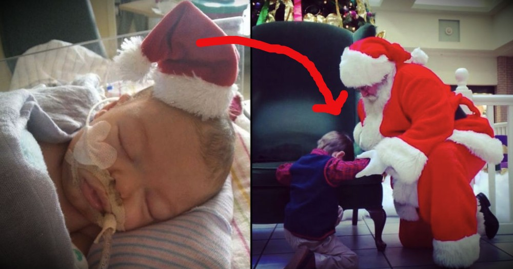 This Little Boy Has Santa Praying For A Miracle. And We Need Your Prayers Too!