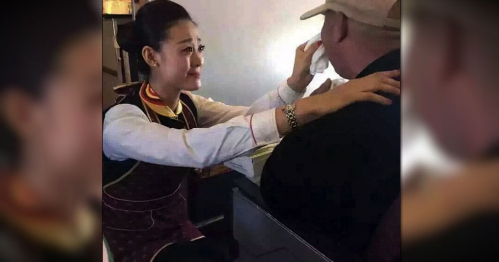 A Flight Attendant's Kindness Towards A Disabled Man Is So Inspiring!
