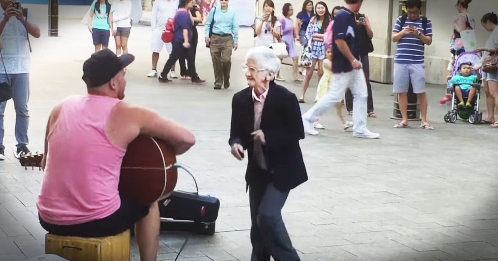Grooving Granny Proves Ages Is Just A Number