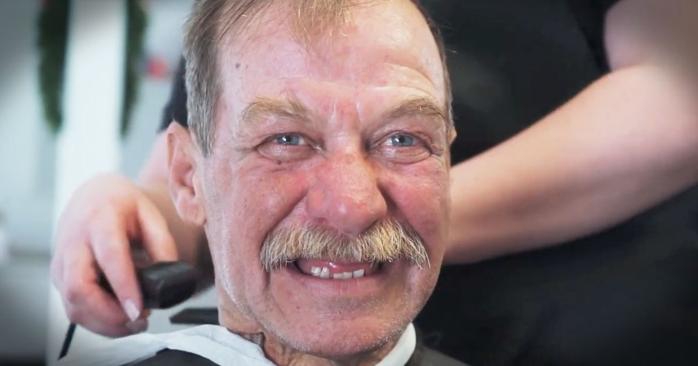 Homeless Men And Women Get Free Haircuts And Feel 'Human Again'