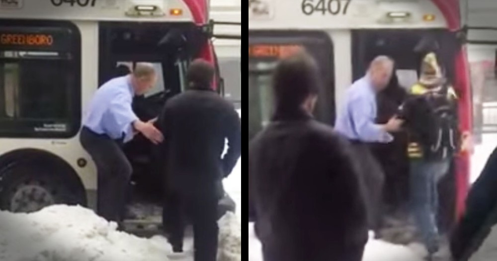 Bus Driver Goes Above And Beyond To Help Passengers Stay Safe