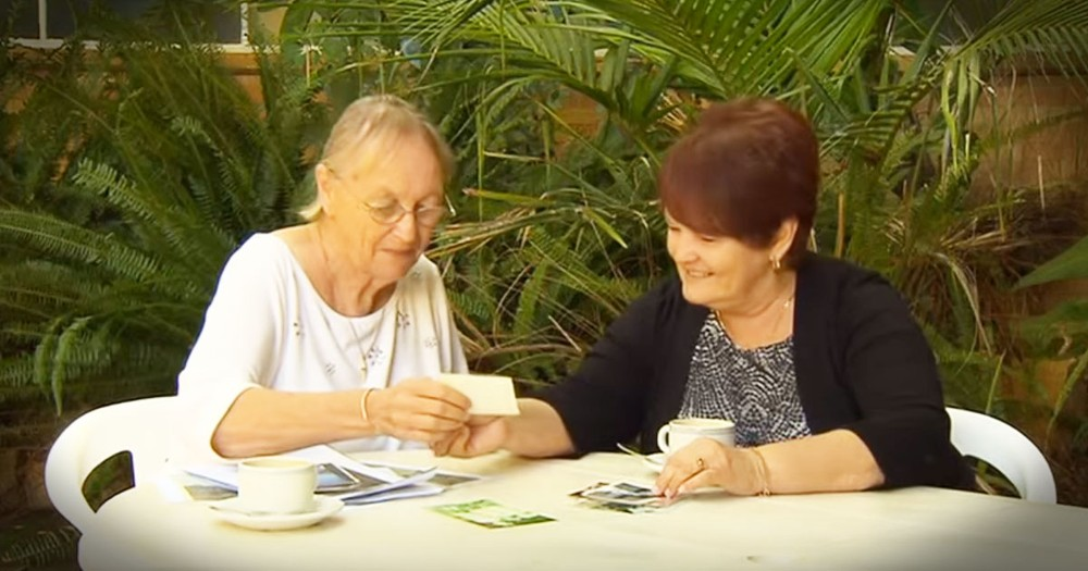 After 60 Years, Childhood Friends Find Out They're Sisters. . . Just In Time!