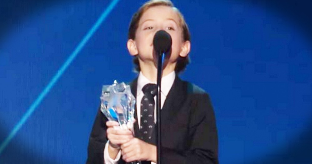 Little Boy's Big Gratitude Will Melt Your Heart