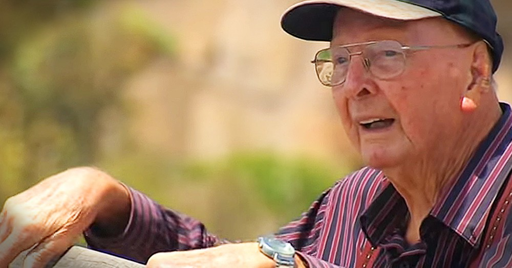 86-year-old Veteran Saves Hundreds From Suicide