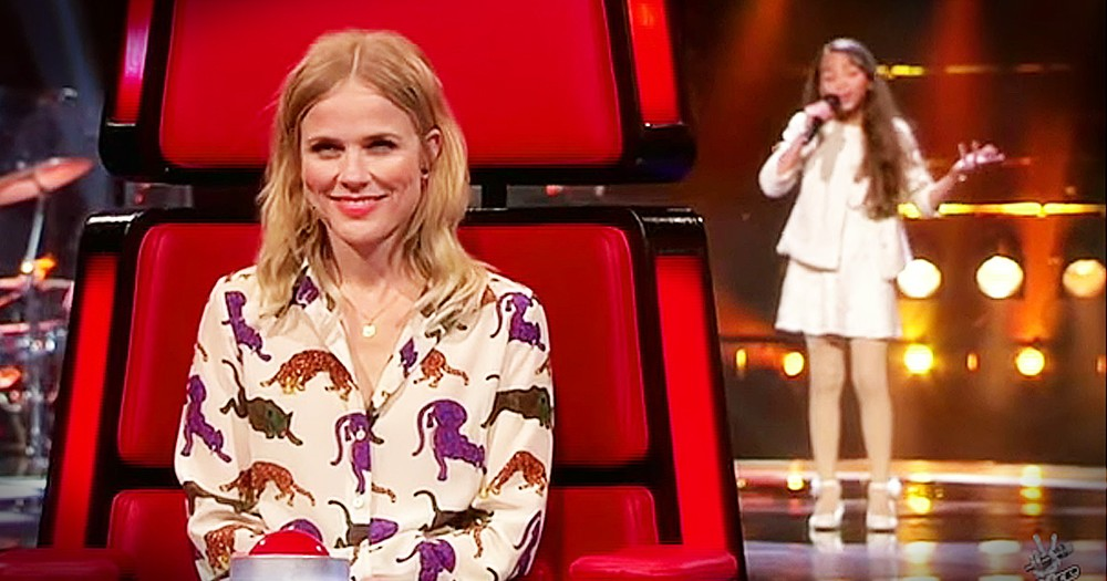 Little Girl's 'Somewhere Over The Rainbow' Audition Will WOW You