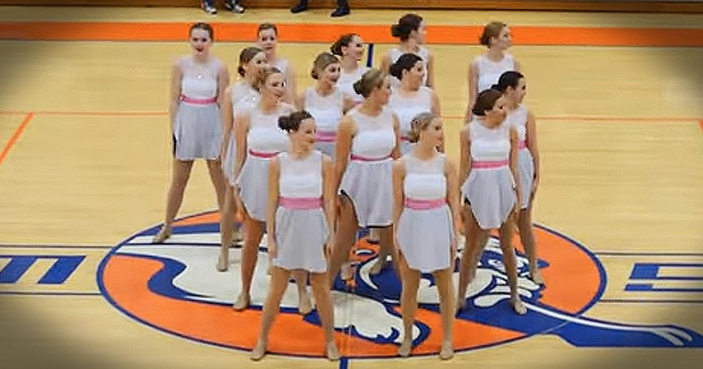 Dance Team's Routine Is Honoring Jesus And You'll LOVE It