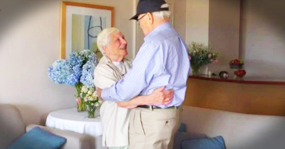 WWII Veteran Reunited With Lost Love After 70 Years