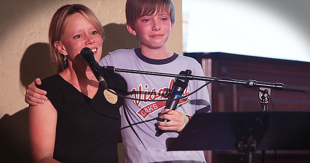 Tearful Mother-Son Duet Will Move You