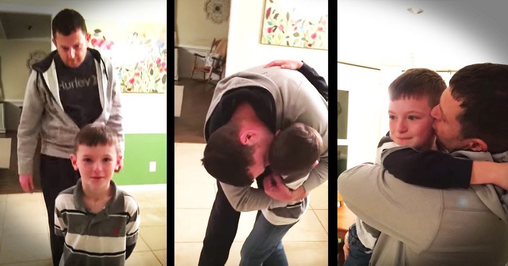Sailor Surprising His Son Will Melt Your Heart