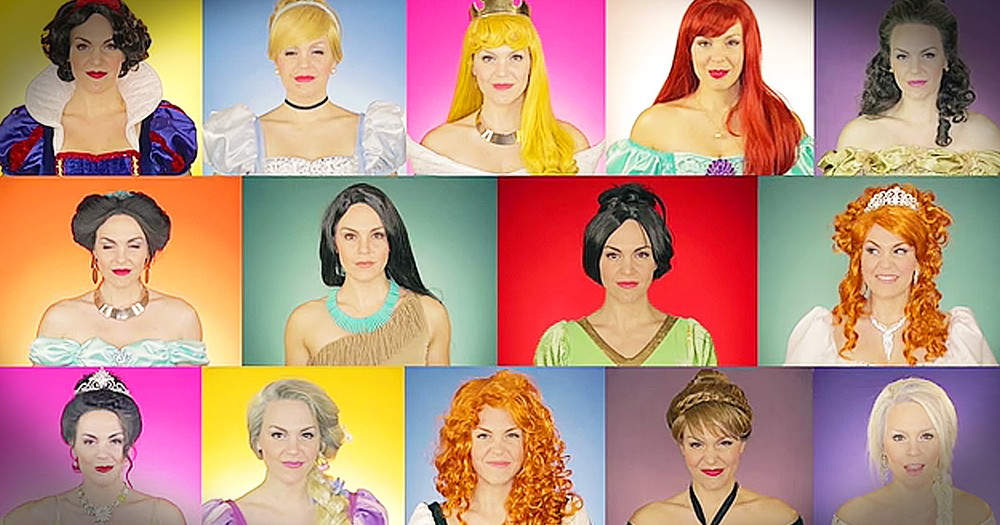 Disney Princess Medley Will Make You Smile
