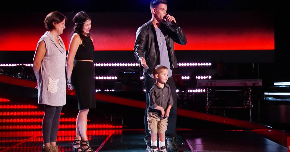 Dads Audition Wows Judges But Son Steals The Show