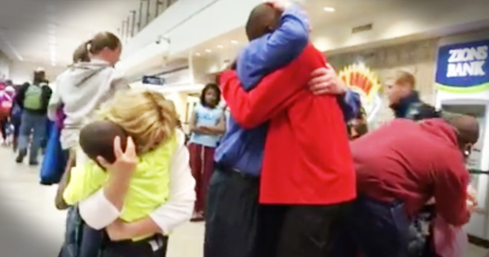 Adopted Sons See Their Parents After 3 Years And Melt Our Hearts