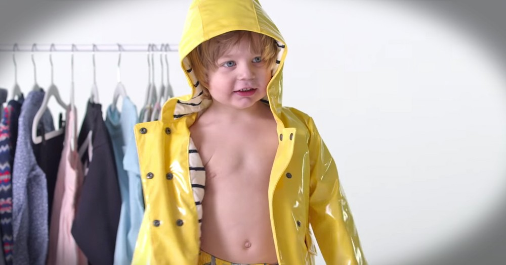 Kids Dressing Themselves For The First Time Is Adorable And Hilarious