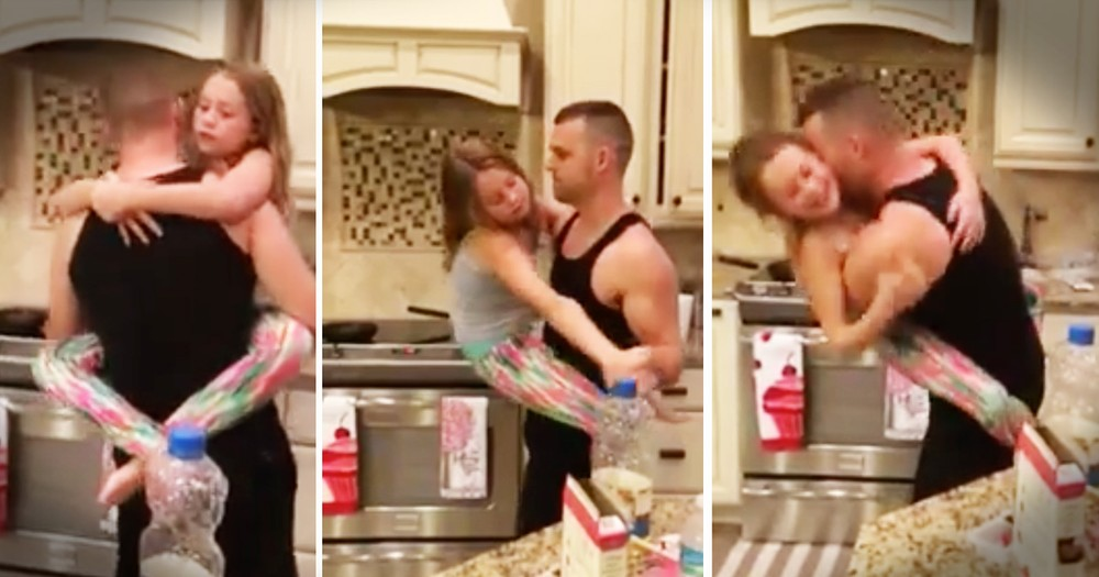 This Father-Daughter Kitchen Dance Is Precious