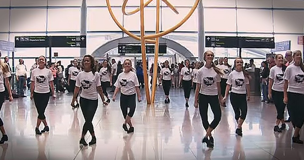 Airport Irish Flashmob Will Leave You Dancing