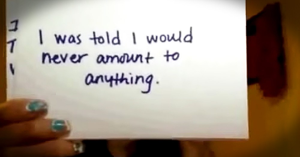 'Ugliest Woman Alive' Lizzie Velasquez's Note Card Testimony Shows Us Real Beauty