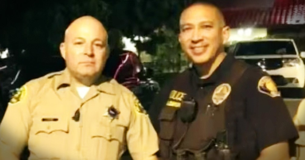 Choking Man Has Beautiful Message For The Officers Who Saved Him