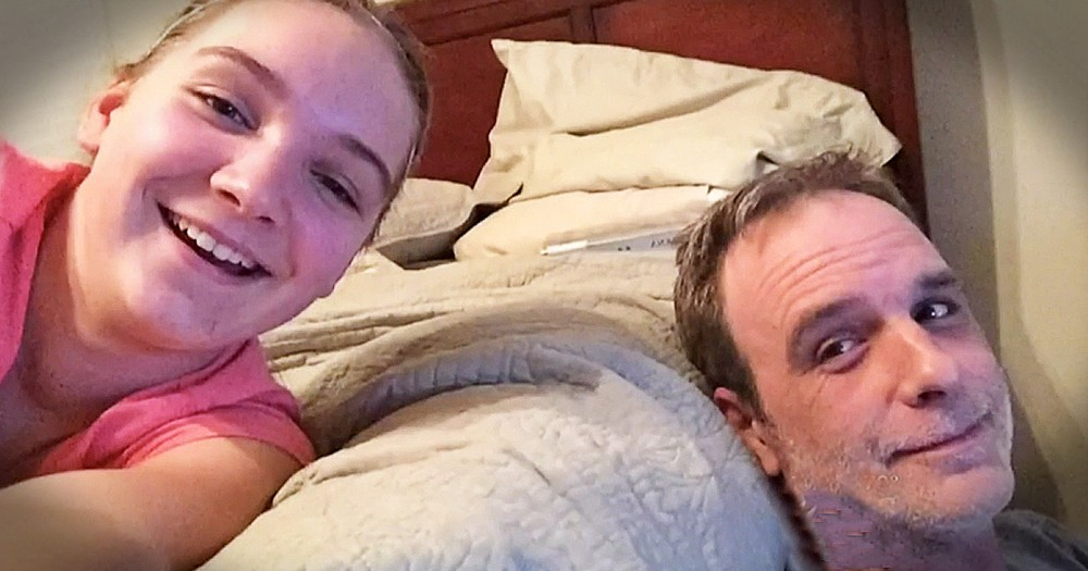 12-Year-Old Girl Saved Her Dads Life And HOW Is Amazing