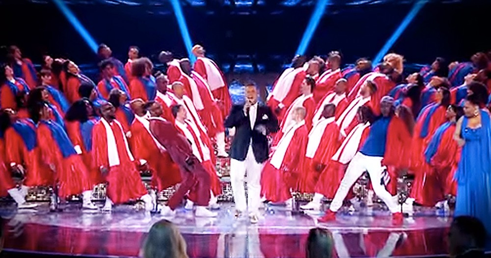 Gospel Choir's Upbeat Performance Will Leave You Clapping