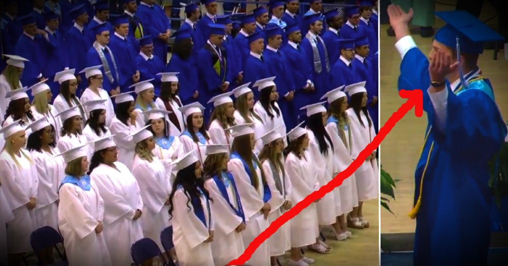 These High School Students Stood Up For Jesus At Their Graduation!