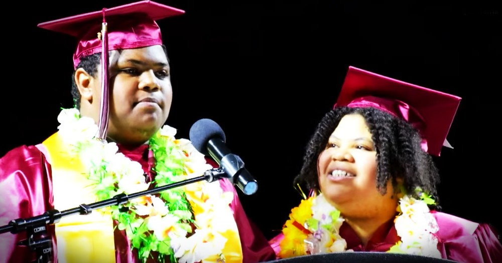 Mother-Son Graduate Together For An Inspiring Reason
