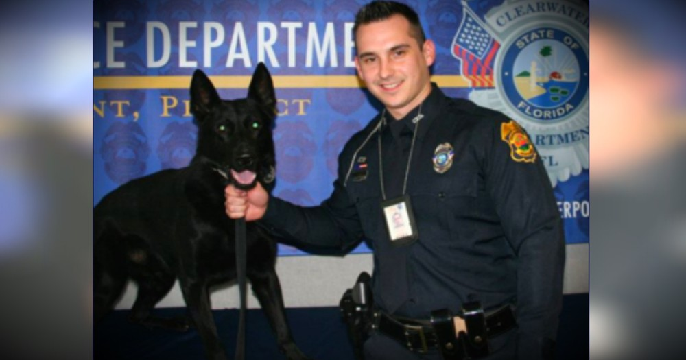 Police Officer's Beautiful Letter To The K-9 Partner He Lost -- TEARS!
