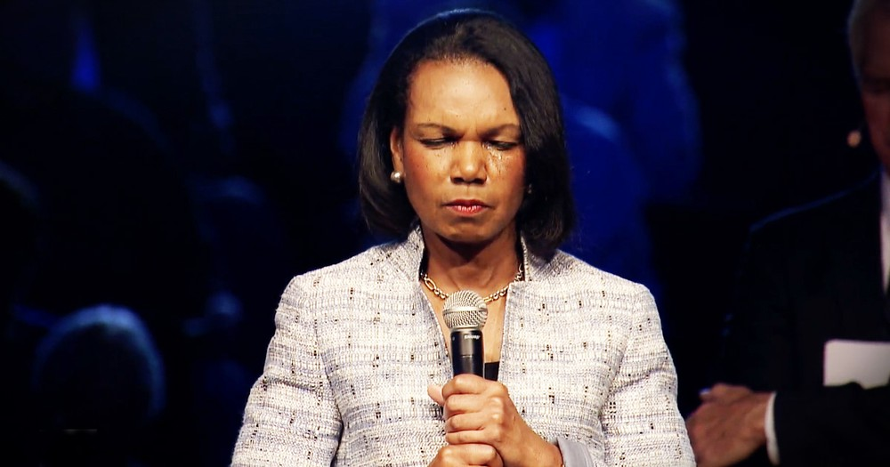 Condolezza Rice's Prayer For The Nation Is Just What We Need