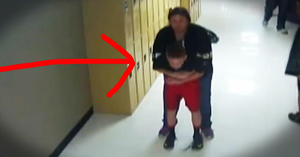 Teacher Heroically Saves Choking Student