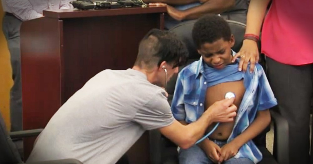 Family Meeting The Little Boy They Saved Will Bring The Tears