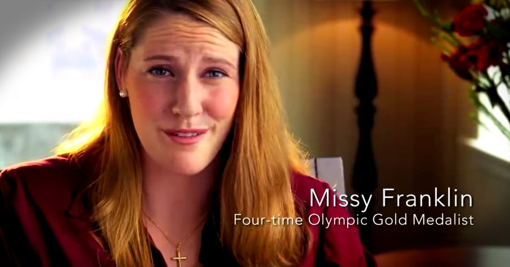Olympic Gold Medalist Missy Franklin Shares How Her Faith Fuels Her