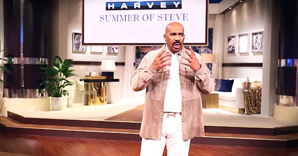 Steve Harvey Gives Terminally Ill Family Feud Contestant $25,000 Of His Own Money