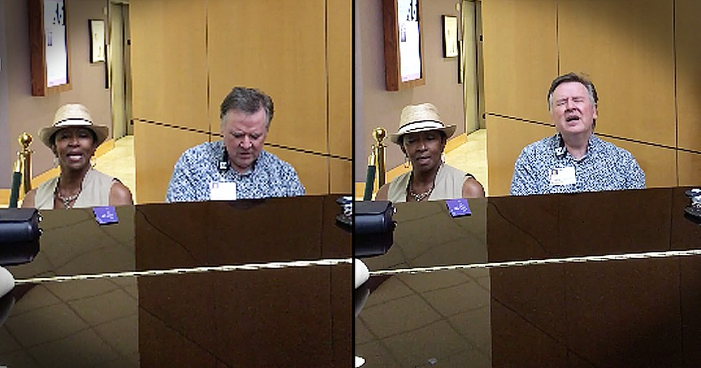 Stranger Sits Next To Preacher At Piano And They Sing Beautiful Gospel Duet