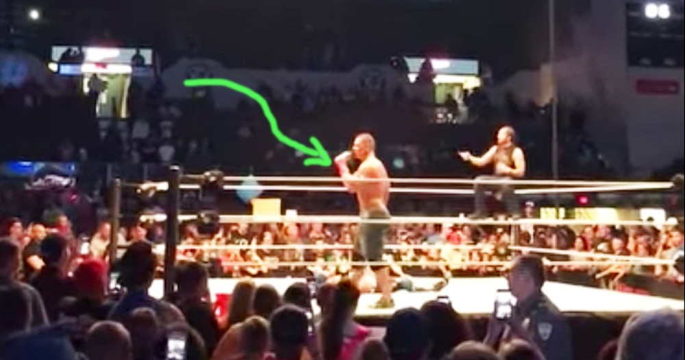 John Cena Sings 'Country Roads' With West Virginia Crowd