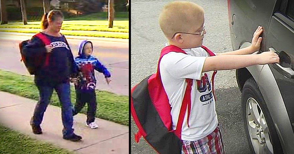 Second-Grader Is Forced To Walk To School Everyday Until Neighbor Steps In