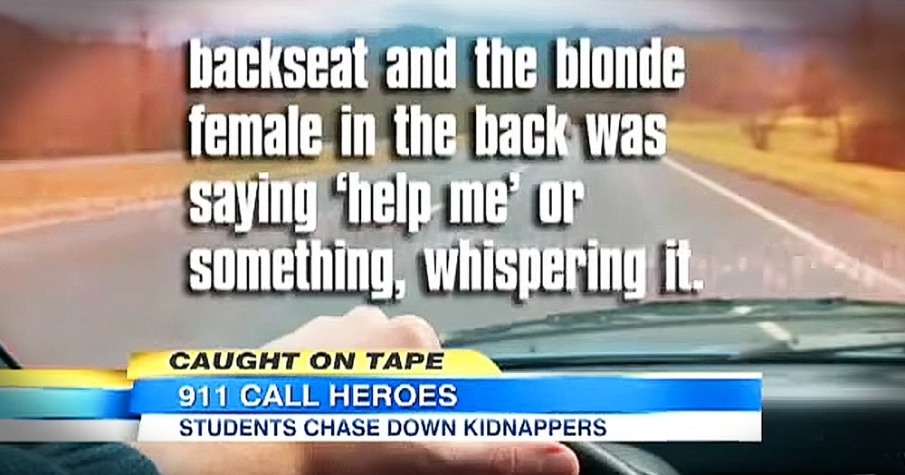 Teenagers Save Woman From Attempted Kidnapping When She Mouths 'Help Me'